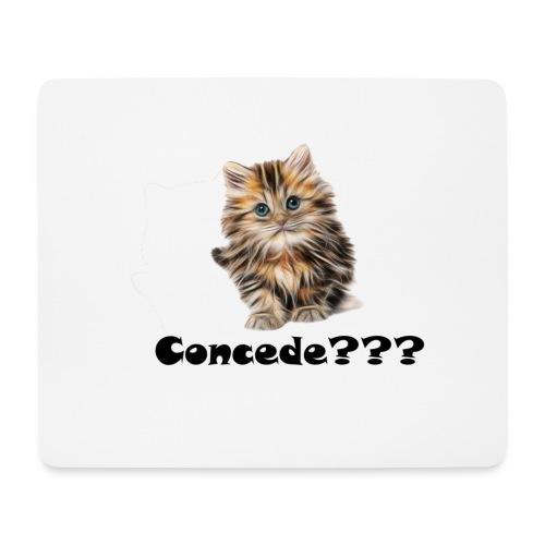Concede kitty - Musematte (liggende format)