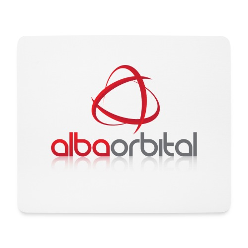 Alba Orbital's Offical Logo - Mouse Pad (horizontal)