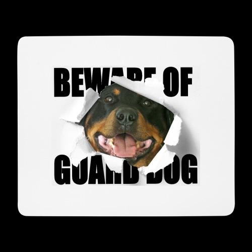 beware of guard dog - Mouse Pad (horizontal)