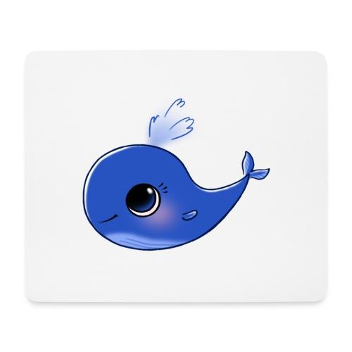 Mini Whale - Mouse Pad (horizontal)