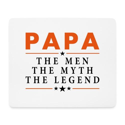 PAPA THE LEGEND - Mouse Pad (horizontal)