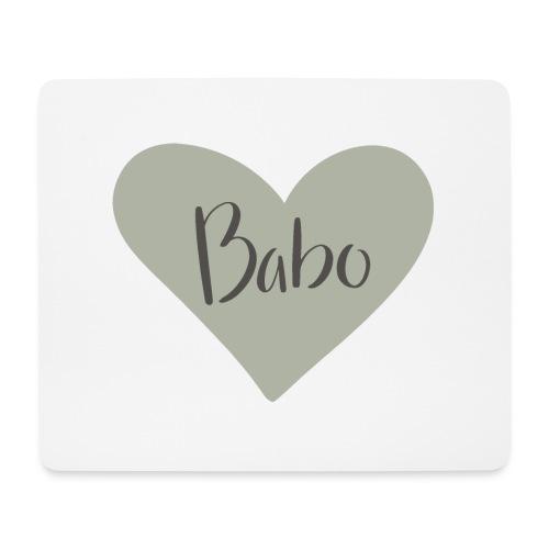 Babo - heart - Musmatta (liggande format)