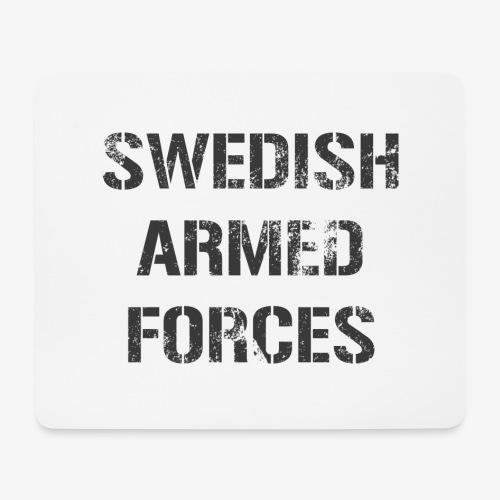 SWEDISH ARMED FORCES - Rugged - Musmatta (liggande format)