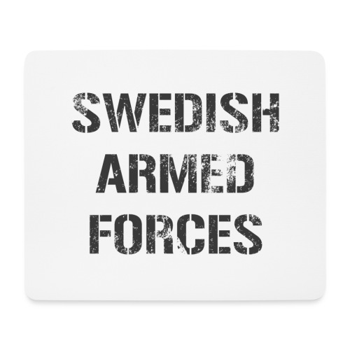 SWEDISH ARMED FORCES - Rugged - Musmatta (liggande format)