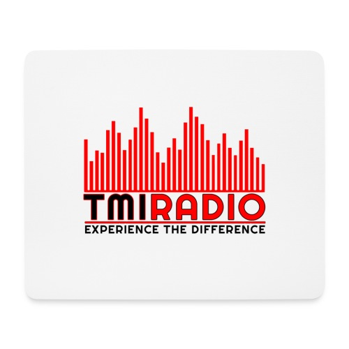 NEW TMI LOGO RED AND BLACK 2000 - Mouse Pad (horizontal)