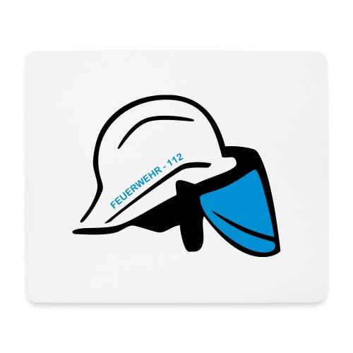 Feuerwehr Helm - Mousepad (Querformat)