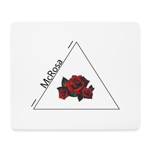 McRosa Pyramide - Mousepad (Querformat)