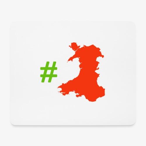 Hashtag Wales - Mouse Pad (horizontal)