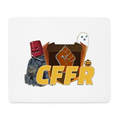 Logo CFFR (halloween) - Tapis de souris (format paysage)