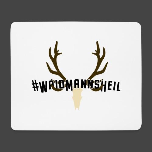"""""""#Waidmannsheil""""-Shirt für Jäger/innen - Mousepad (Querformat)"""