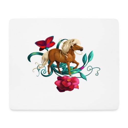 Kamelien Pony - Mousepad (Querformat)