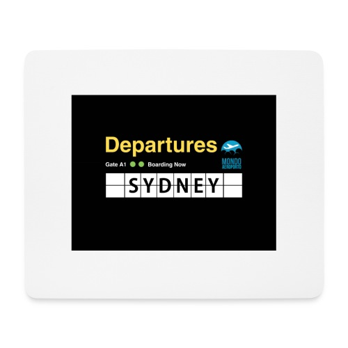 SYDNEY png - Tappetino per mouse (orizzontale)
