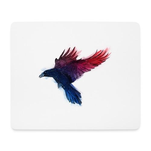 Watercolor Raven - Mousepad (Querformat)