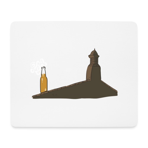 Habemus Beer Hoodies - Mousepad (Querformat)