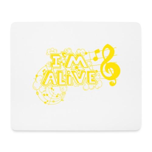 i m alive geel png - Muismatje (landscape)