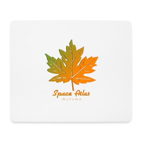 Space Atlas Long Sleeve T-shirt Autumn Leaves - Mousepad (bredformat)