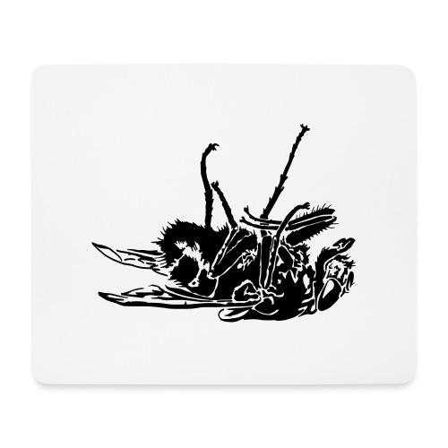 mouche morte - Tapis de souris (format paysage)