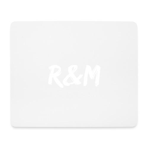 R&M Large Logo tshirt black - Mouse Pad (horizontal)