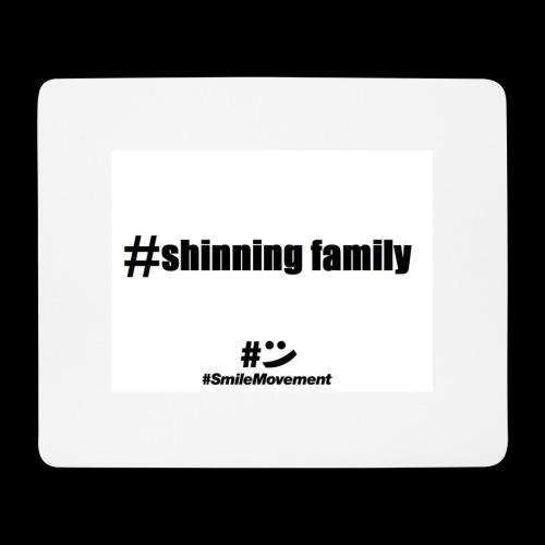 shinning family - Tapis de souris (format paysage)