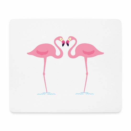 flamingo - Tappetino per mouse (orizzontale)