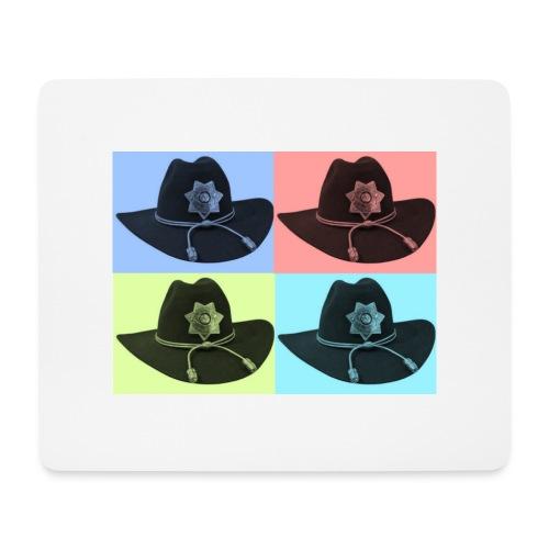 cuatro rick - Alfombrilla de ratón (horizontal)