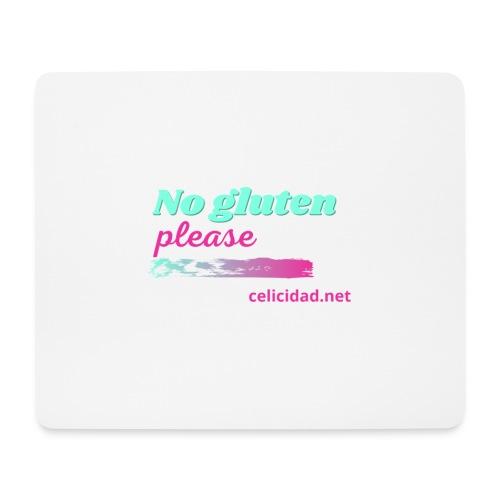 No gluten please - Alfombrilla de ratón (horizontal)