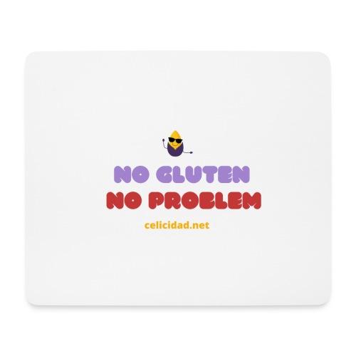 No Gluten No Problem - Alfombrilla de ratón (horizontal)