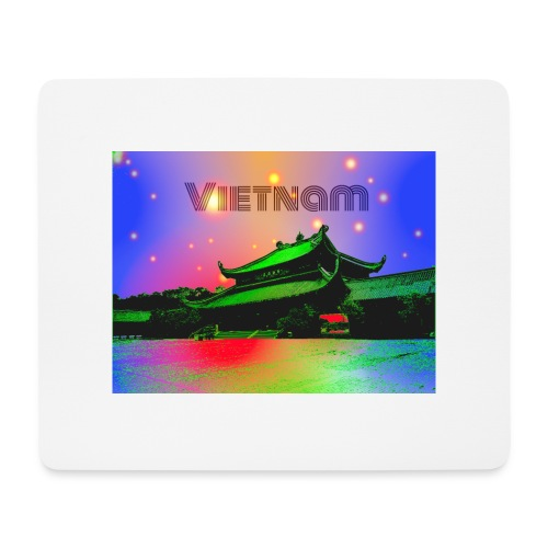 Vietnam - Tappetino per mouse (orizzontale)