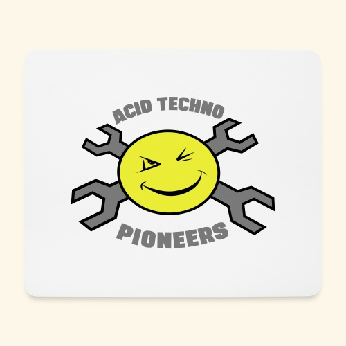ACID TECHNO PIONEERS - SILVER EDITION - Mouse Pad (horizontal)