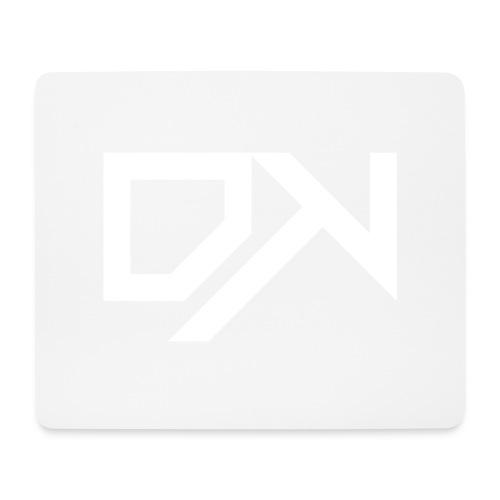 DewKee Logo Cap White - Mouse Pad (horizontal)