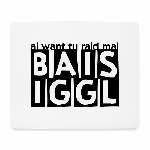 BAISIGGL square - Mousepad (Querformat)