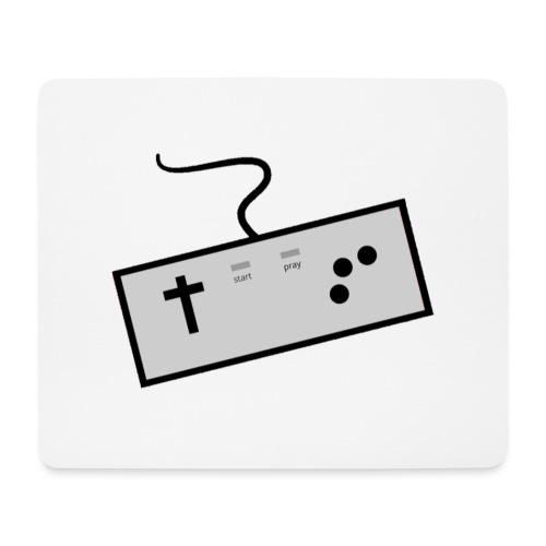 Baseballshirt der Theophil-Nerds - Mousepad (Querformat)