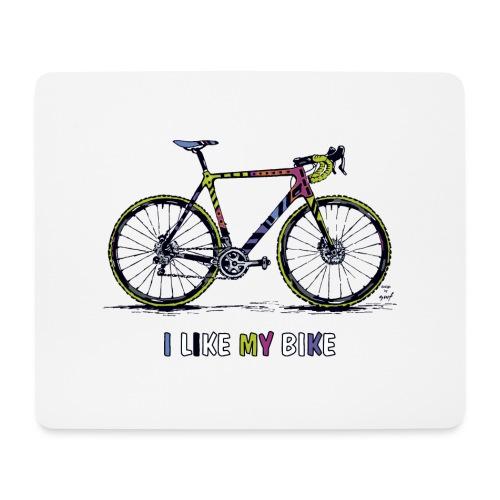 CycloCross I LIKE MY BIKE - Mousepad (Querformat)