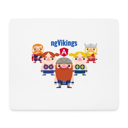 Viking Friends - Mouse Pad (horizontal)
