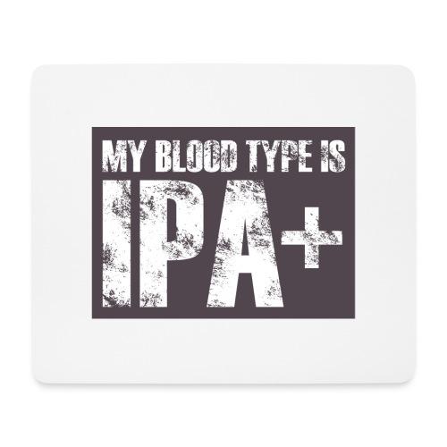 My Blood Type Is IPA + - Podkładka pod myszkę (orientacja pozioma)