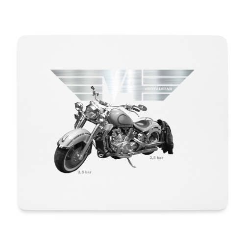 Royal Star silver Wings - Mousepad (Querformat)