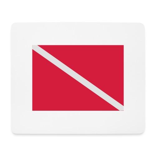 Diver Flag - Mouse Pad (horizontal)