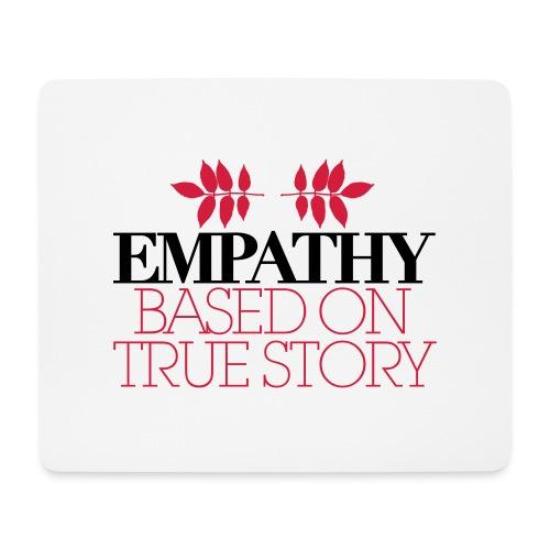 empathy story - Podkładka pod myszkę (orientacja pozioma)