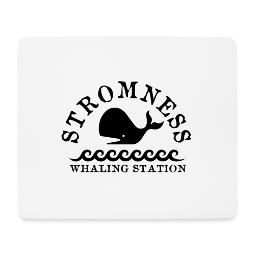 Sromness Whaling Station - Mouse Pad (horizontal)