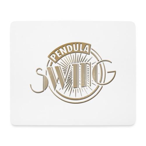 Pendula Swing Logo Gold - Mouse Pad (horizontal)