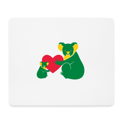 Koala Heart Baby - Mouse Pad (horizontal)