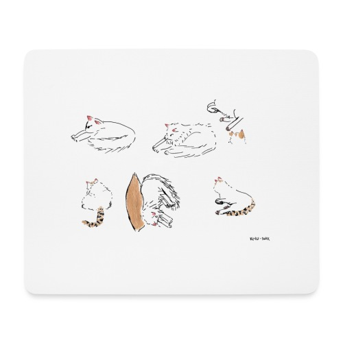 Cat Company - Mouse Pad (horizontal)