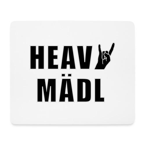 Heavy Mädl - Mousepad (Querformat)
