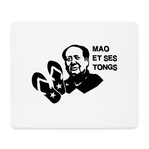 MAO et ses tongs - Tapis de souris (format paysage)