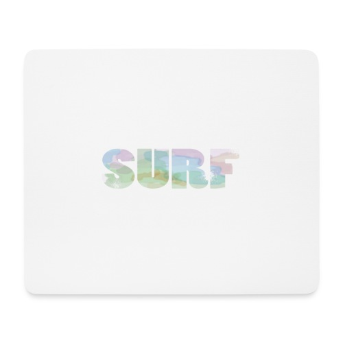 Surf summer beach T-shirt - Mouse Pad (horizontal)