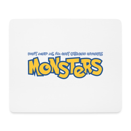 Monsters - Mouse Pad (horizontal)