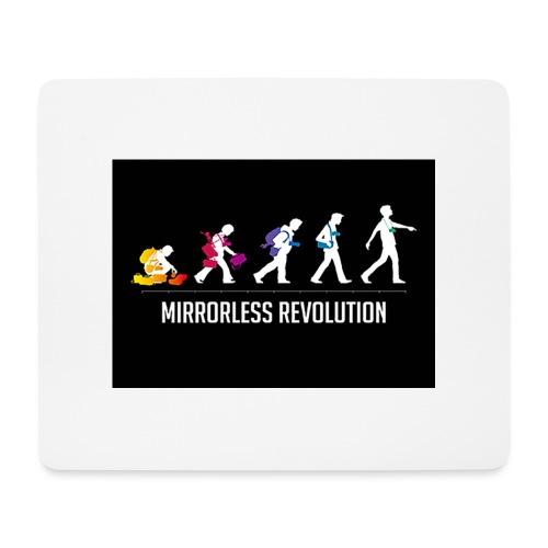 mirrorless evolution - Alfombrilla de ratón (horizontal)