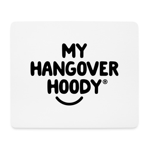 The Original My Hangover Hoody® - Mouse Pad (horizontal)