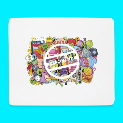 maglia logo doodle - Tappetino per mouse (orizzontale)