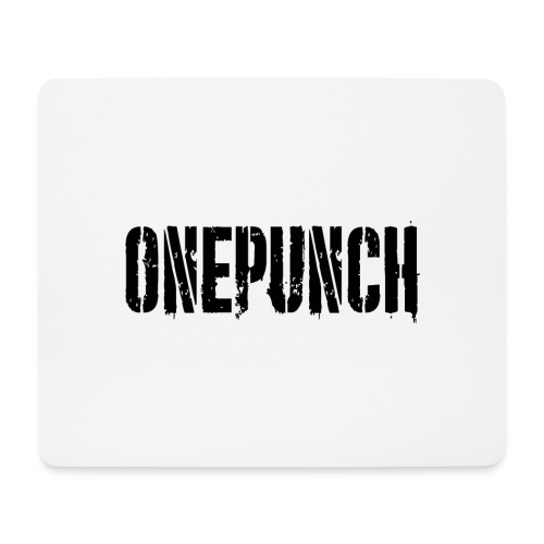 Boxing Boxing Martial Arts mma tshirt one punch - Mouse Pad (horizontal)